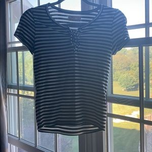 Hollister Tops - Hollister striped T-shirt